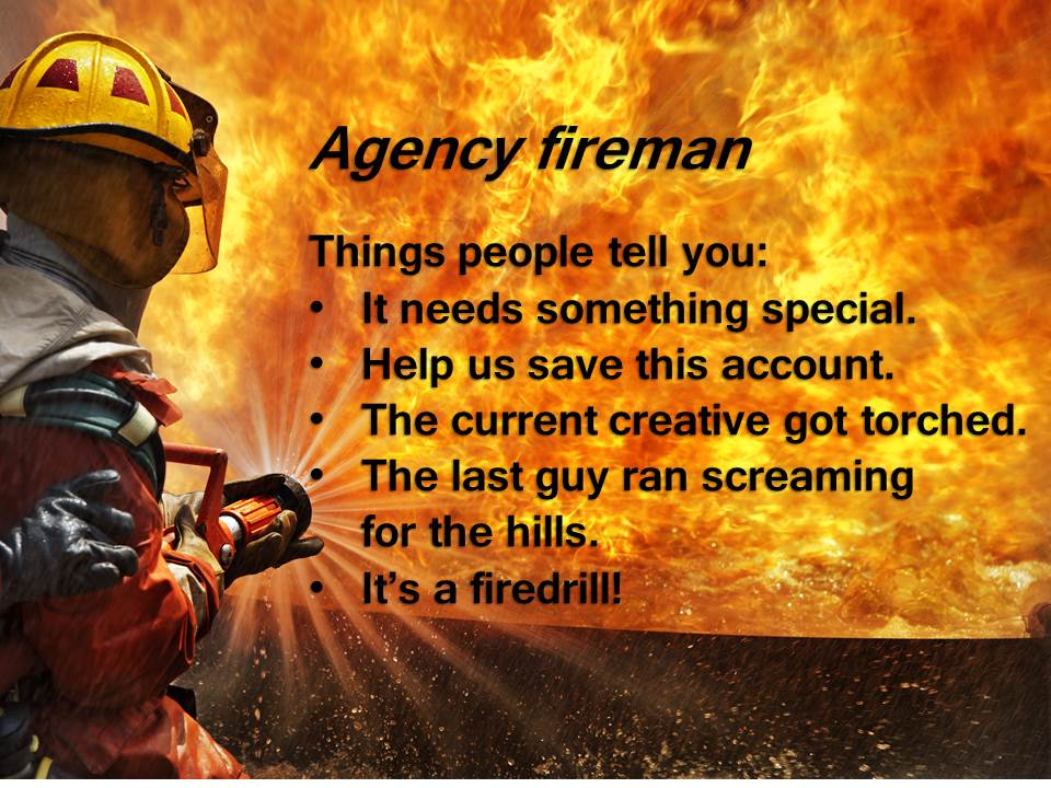 "The many ways an ""agency fireman"" can help clients"